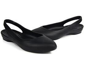 b4b051601bd3 Crocs Dámske baleríny Crocs Eve Slingback Black 204955-001