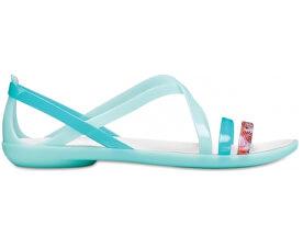 4b6766adaacb Crocs Dámské sandále Isabella Cut Grph Strappy Sndl New Mint Oyster  205150-35I