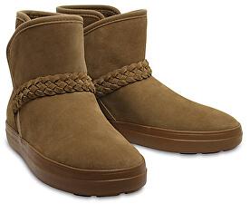 09e0527a2f Crocs Dámske zimné topánky LodgePoint Suede Bootie W Hazelnut 204798-28G