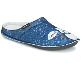 Crocs Pantofle Classic Graphic Slipper Navy 204565-410 20011c20ea