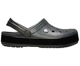 533028fcb79 Crocs Pantofle Crocband Glitter Clog 205419-001