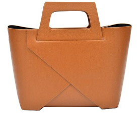 Kožená kabelka AW18CF4033 Cognac