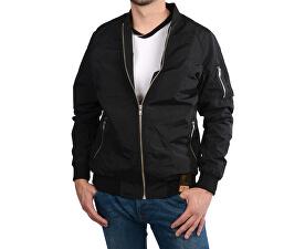 Pánska čierna bunda Geraldo Black 4946901