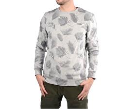 Pánska šedá mikina s potlačou Paro Grey mel 4158753