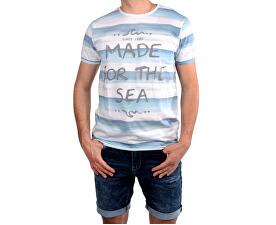 bea1f60d8cf Cars Jeans Pánské bílé tričko s potiskem Salty White 4046723