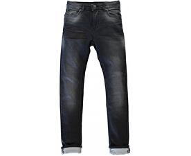 Pánské černé kalhoty Ancona Blackused 7267841.34