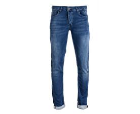 Pantaloni albastri pentru bărbați Bari Jog Bleachused 7814806.34