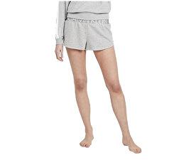 Pantaloni scurți pentru femei Sleep Short Statement 1981 QS6260E-020 Grey Heather
