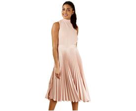 Dámske šaty Closet Gold Pleated Skirt Dress Blush