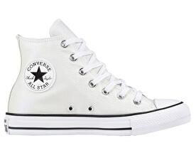 Converse Kotníkové tenisky Chuck Taylor All Star White White Black 3d3dfbc404