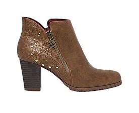 Desigual Dámske členkové topánky Shoes Frida Winter Valkiria Choco 18WSAP02  6029 614fd90074a
