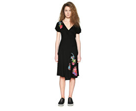 4e3160866f74 Desigual Dámské šaty Vest Asha 18SWVKC4 2000