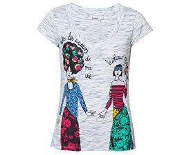 Dámske tričko TS Twins Tee Blanco 19SWTK32 1000