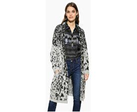 Pulover pentru femei Jers Jacheta Grey Leopard 17WWJFC4 2023