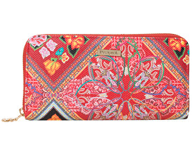Wallet Mone Folklore Cards Fiona Persian Red 19SAYP58 3105