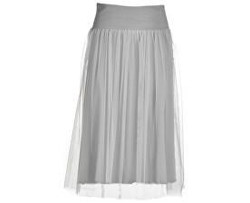 Dámska sukňa Side Knotted Skirt B74055 Pearl Gray