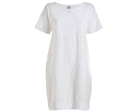 Dámské šaty Tee Dress D73030 White