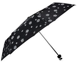 d319ce3a1 Doppler Dámsky skladací mechanický dáždnik Special Mini Edelweiss čierna  700065E03