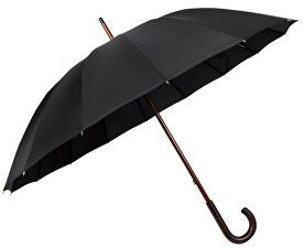 Pánský holový mechanický deštník London - černý 74166