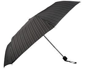 Pánský skládací mechanický deštník Mini Fiber - pruhovaný 72646703