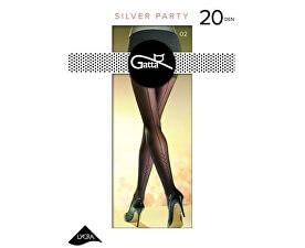 Gatta Dámské punčochové kalhoty Ombre 3D Nero-Frape  0b1c447c37