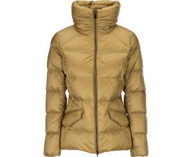 Dámska bunda Woman Down Jacket Mustard Gold W7425L-T2412-F2086