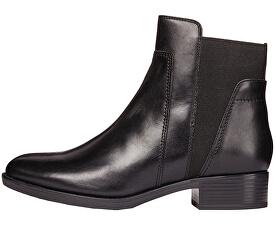 Dámske členkové topánky Felicity F Black D84G1F-00043-C9999