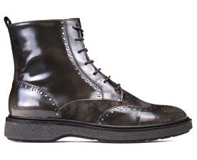 Dámské kotníkové boty Prestyn Dk Coffee D745WA-038PV-C6024