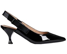 Pantofi cu toc pentru femei Elisangel Mid Black D92BWA-066KF-C9999