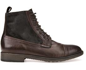 Pánské kožené boty Jaylon Coffee U54Y7B-0FV22-C6009