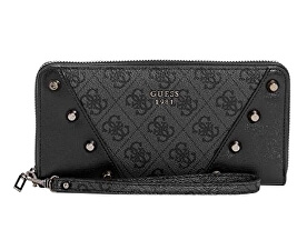721600ec0 Guess Dámska peňaženka Kaia zips Around Wallet Black