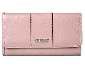38063da00 Guess Dámska peňaženka Ware patent logo slim wallet Pink