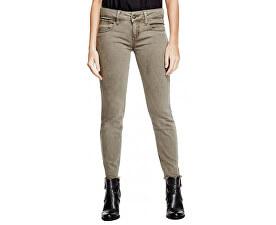Dámske nohavice Lillie Ankle Skinny Jeans Dry Moss