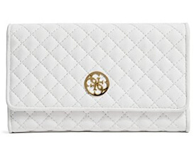 0e027f297842 Guess Elegantná peňaženka Classic Quilted Wallet and Pouch White