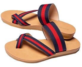 Papuci pentru femei Ulissa S19-933 Striped