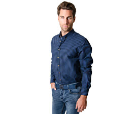 Pánská košile s dlouhým rukávem Reply W16-411 Blue