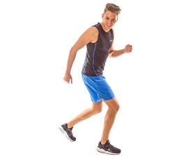 Shorts sport bărbați Xon S17-512 Blue