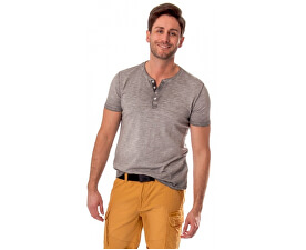 Pánské triko s krátkým rukávem Milk S17-200 Gray