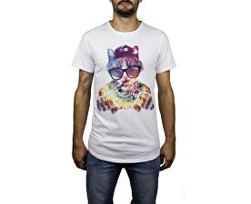 Pánské tričko Thug Cat SS White