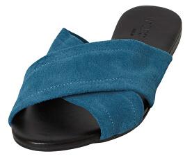 2dac48a3e364 Pieces Dámské pantofle Marnie Suede Sandal Seaport