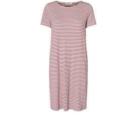 Dámske šaty Billo SS Dress Noos Bright White/Malaga