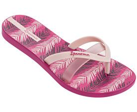 94026f2d97 Ipanema Dámské žabky Kirei Silk III Fem 82289-21038 Pink Pink
