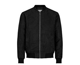 JachetăJorhoward Casual Bomber Black pentru bărbați