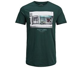 959ee1545 Jack&Jones Pánske tričko Jorlever Tee Ss Crew Neck Ponderosa Pine
