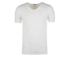 Pánské triko Jorbirch Tee Ss V-neck Cloud Dancer Slim