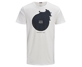 Tricou pentru bărbați Jorcircle Tee Ss Crew Neck Cloud Dancer Reg