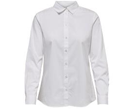 Dámska košeľa Mio L/S Shirt Wvn Noosa White