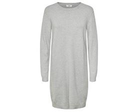 Dámske šaty JDYMARCO L/S DRESS KNT NOOS Light Grey Melange