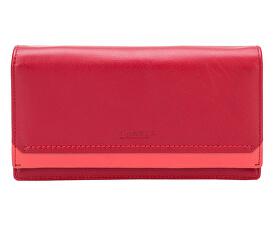 Dámska červená kožená peňaženka Red R/C 10181
