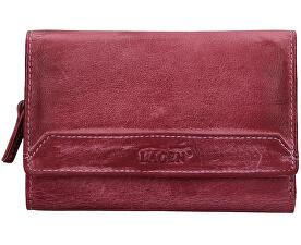 Dámská kožená peněženka LG-11/D Plum